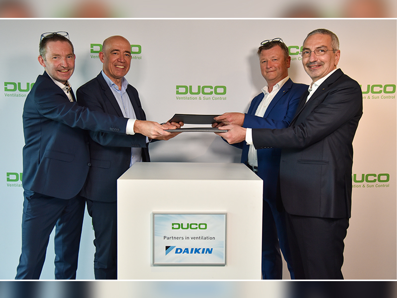 DUCO s'associe à Daikin Europe pour son expansion internationale - Batiweb