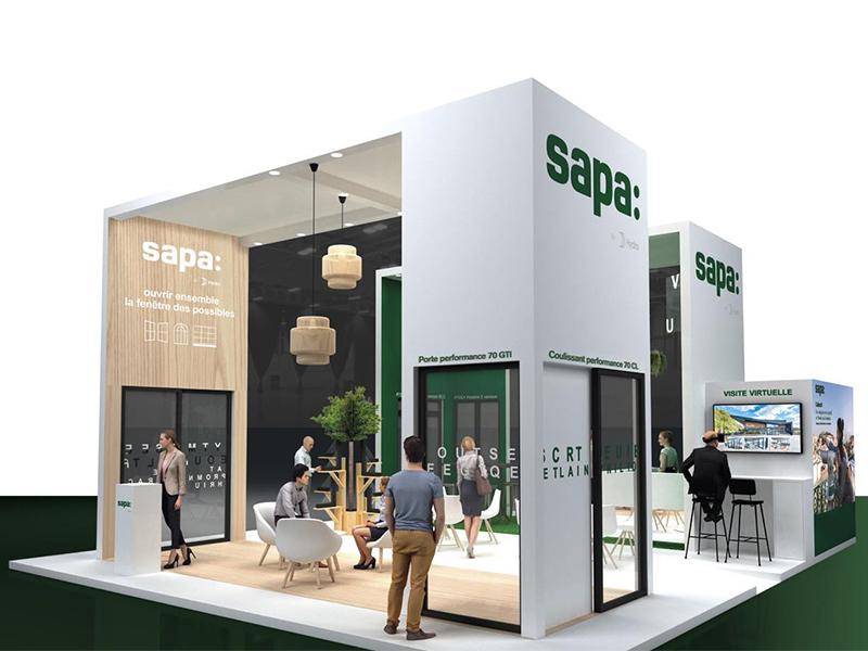 Avant-première Salon EQUIPBAIE Hall 1 - Stand E19, Sapa accélère la dynamique de la préfabrication : enrichissement de sa gamme PERFORMANCE 70 et immersion dans son nouveau showroom digital - Batiweb