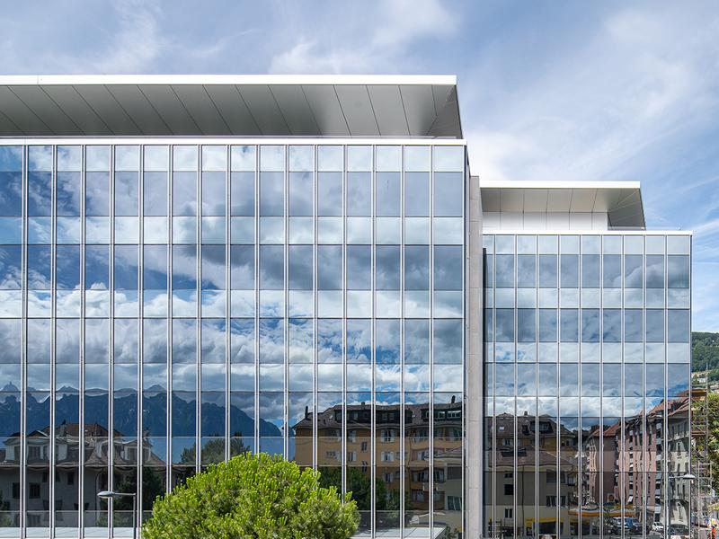 Le Siège mondial Nestlé, implanté en Suisse,s'équipe de vitrages intelligents SageGlass : exemplarité en matière de confort, d'efficacité énergétique et d'architecture - Batiweb