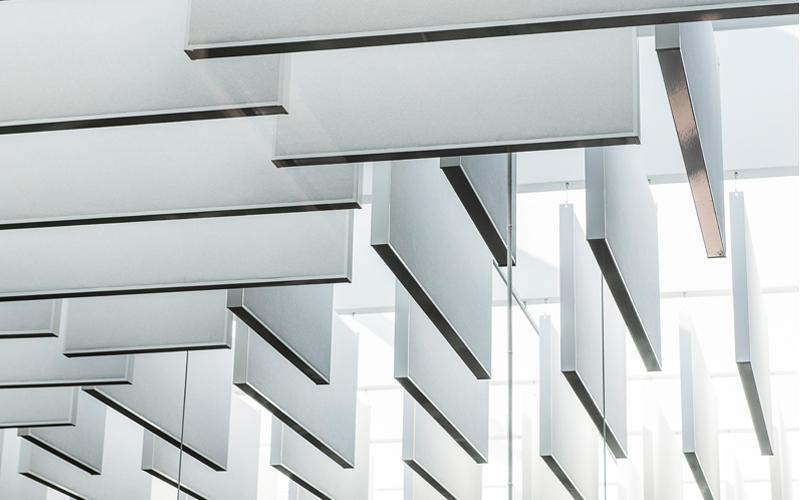Gamme Rockfon Baffle, une solution idéale pour vos plafonds ouverts - Batiweb