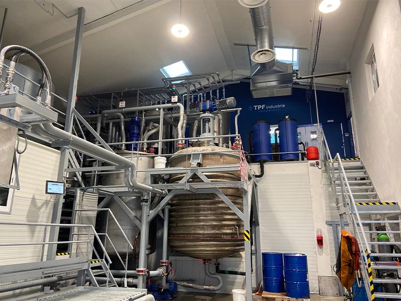 TPF - Technique Polyuréthane France : seul industriel français fabricant de systèmes polyuréthane & précurseur en polyol pour isolation projetée à très faible impact environnemental - Batiweb