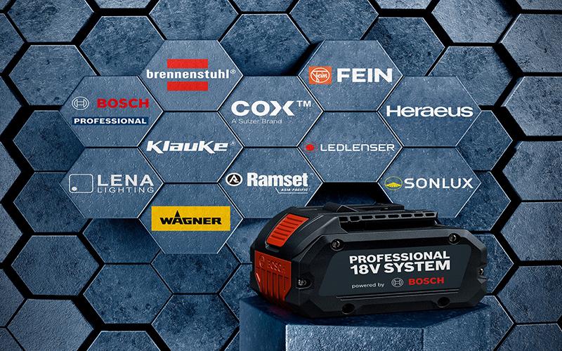 Bosch place l'extension de ses plateformes de batteries sous le signe de la durabilité - Batiweb