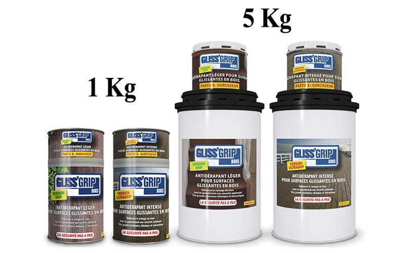 GLISS'GRIPBois®: LE vernis à séchage express qui protège, rénove et rend tous les bois totalement antidérapants - Batiweb