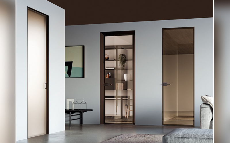 Portes Verre & Aluminium ECLISSE - Batiweb