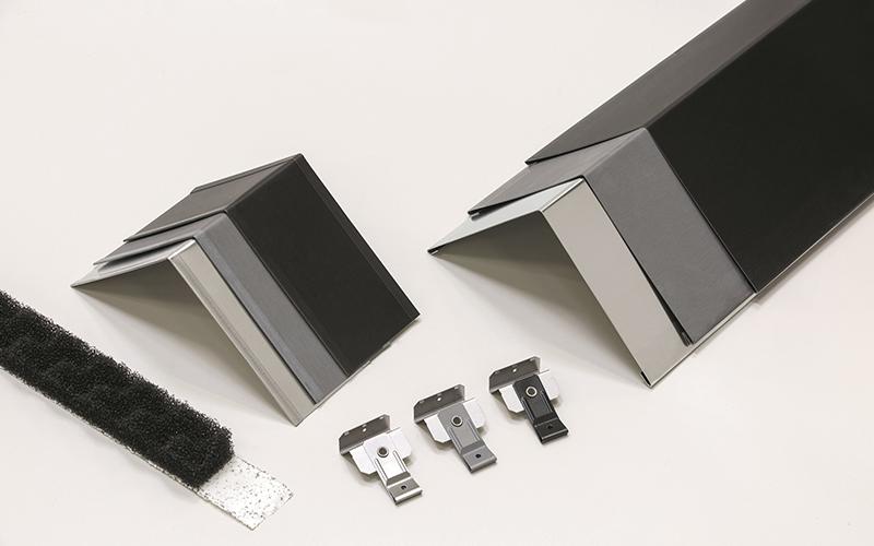VMZINC® enrichit son offre pour l'enveloppe : faîtage ventilé G3 clé en main et collection noire exclusive - Batiweb